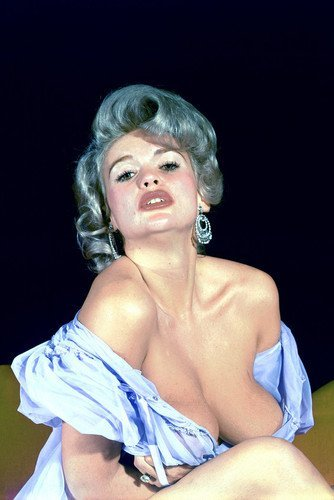 Jayne Mansfield 11x17 Mini Poster huge cleavage - Cleavage Mini