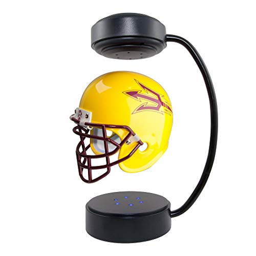 (Arizona State Sun Devils NCAA Hover Helmet - Collectible Levitating Football Helmet with Electromagnetic)