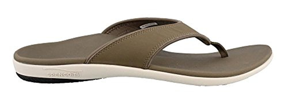 Spenco Women's, Yumi Comfortable Thong Sandals Walnut 8 M