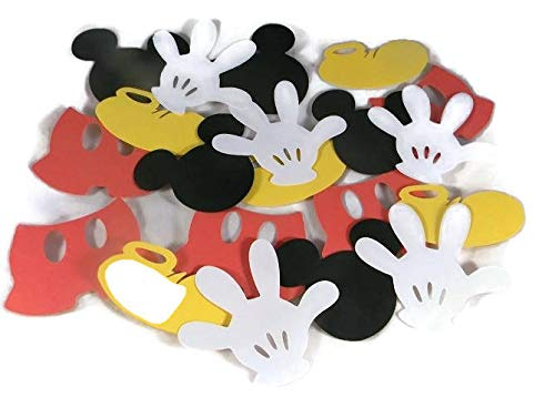 (Magical Mouse Shoes, Hand, Heads & Pants Die Cuts Set 4 Inch - 20)