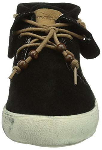 O'Neill Ricked Suede, Zapatillas altas Mujer Negro (A00 Black)