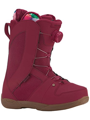 Ride Sage Boa Coiler Womens Snowboard Boots 2018 - 7.5/Maroon by Ride