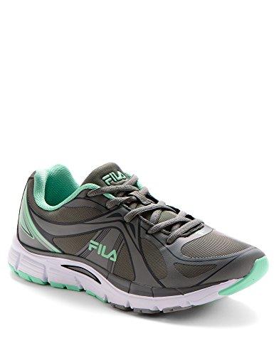 Women's Fila Evagon Heather Footwear Grey Turquoise URqxRr7d