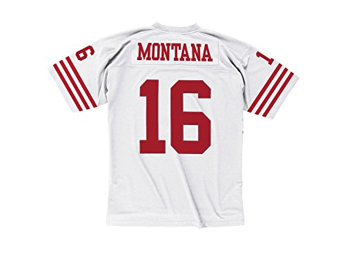 Mitchell & Ness San Francisco 49ers Joe Montana White 1990 Throwback Jersey (M/40)