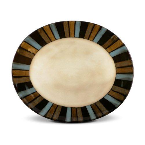 (Pfaltzgraff Cayman Oval Serving Platter, 14-Inch)