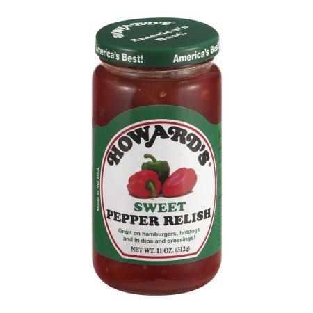 (Howard's Sweet Pepper Relish,11 oz (Pack of)