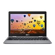 ASUS Chromebook C223NA (Grey) (Intel Celeron N3350, 4 GB RAM, 32 GB eMMC, 11.6 Inch HD Screen, Chrome OS)