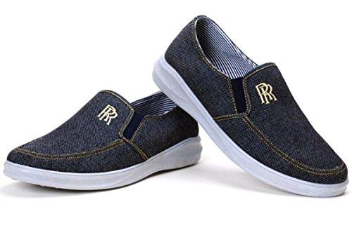 Zapatillas de deporte ligeras de los hombres / zapatos de conducción Zapatillas de deporte de lona 1