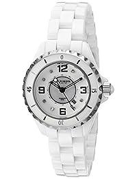 Akribos XXIV Women's AKR485WT Allura White Ceramic Watch