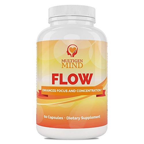Flow 60 Caps - Flow Focus and Memory Support (60 caps)