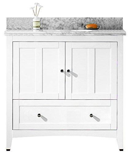 - American Imaginations AI-888-17621 Plywood-Veneer Vanity Set, White