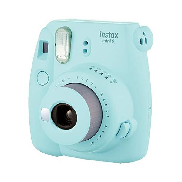 RetinaPix Fujifilm Instax Mini 9 Instant Camera (Ice Blue)