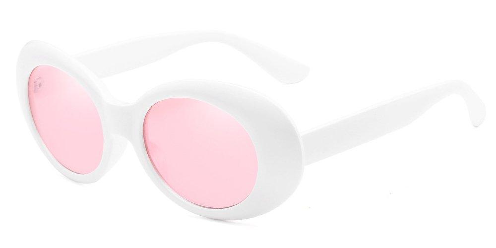 BOZEVON Retro Oval Sunglasses - UV400 Sunglasses Goggles For Women & Men