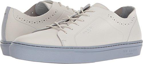 (Ted Baker Men's Uurll White/Light Blue Leather 12 D US)