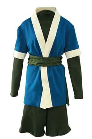 E-Mell Naruto Cosplay Costume Haku 1st Generation Suit (XXL)