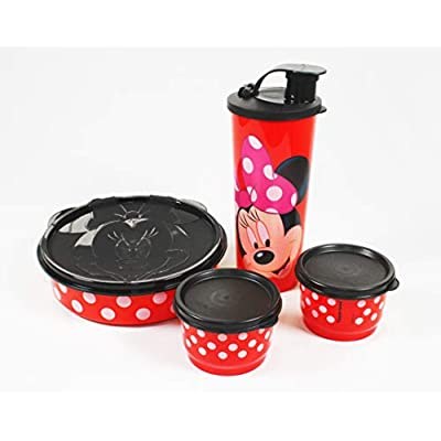 Lunch Tupperware Disney Minnie Mouse Set: Kitchen & Dining