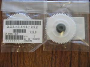 Sparepart: Canon LF DOUBLE GEAR, QC1-1146-000