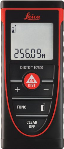 Leica DISTO E7300 295ft Laser Distance Measurer, Red/Black