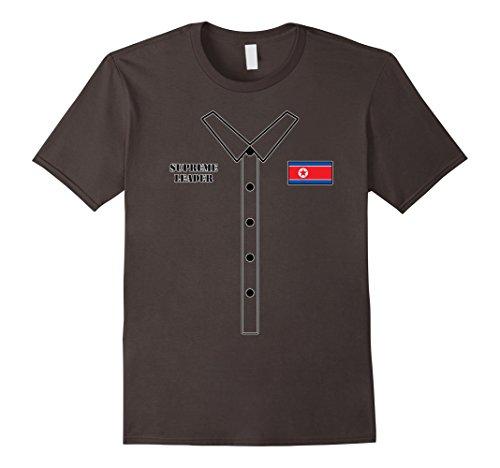 Mens Kim Jong Un Halloween Costume - Funny Rocketman T-Shirt Medium (Halloween Costumes Easy Diy)