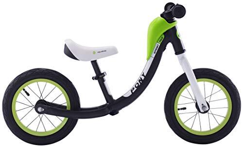 Royalbaby Pony Sport Alloy 12 inch Balance Bike with Carrying Strap, Black