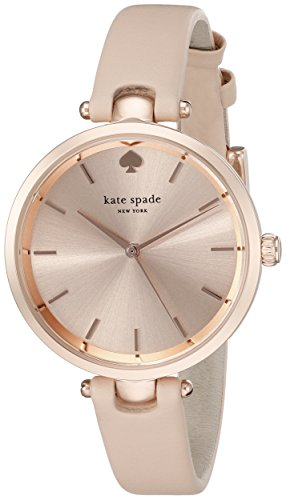 Kate Spade New York Women's 1YRU0812 Holland Analog Display Japanese Quartz Beige Watch by Kate Spade New York