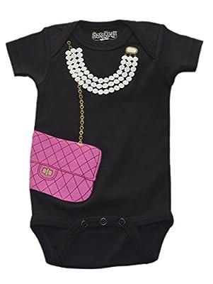 Sara Kety Baby-Girls Newborn Bag with Pearl One