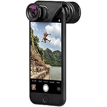 olloclip - ACTIVE LENS SET for iPhone 8/8 Plus & iPhone 7/7 Plus - TELEPHOTO & ULTRA-WIDE Premium Glass Lenses