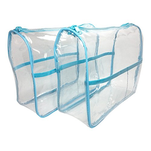 2 Pack Clear Vinyl Bag Organizer product image