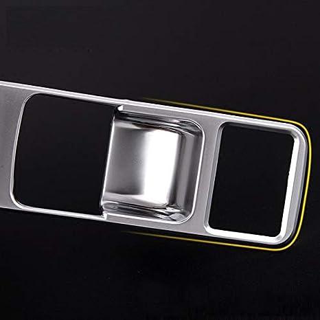 Abs Chrome Plastic Interieur Centereral Elektronische Handbremse Button Trim Sticker Silber Für Xe Für F Pace Für Xf 2016 Für Xfl 2017 Auto