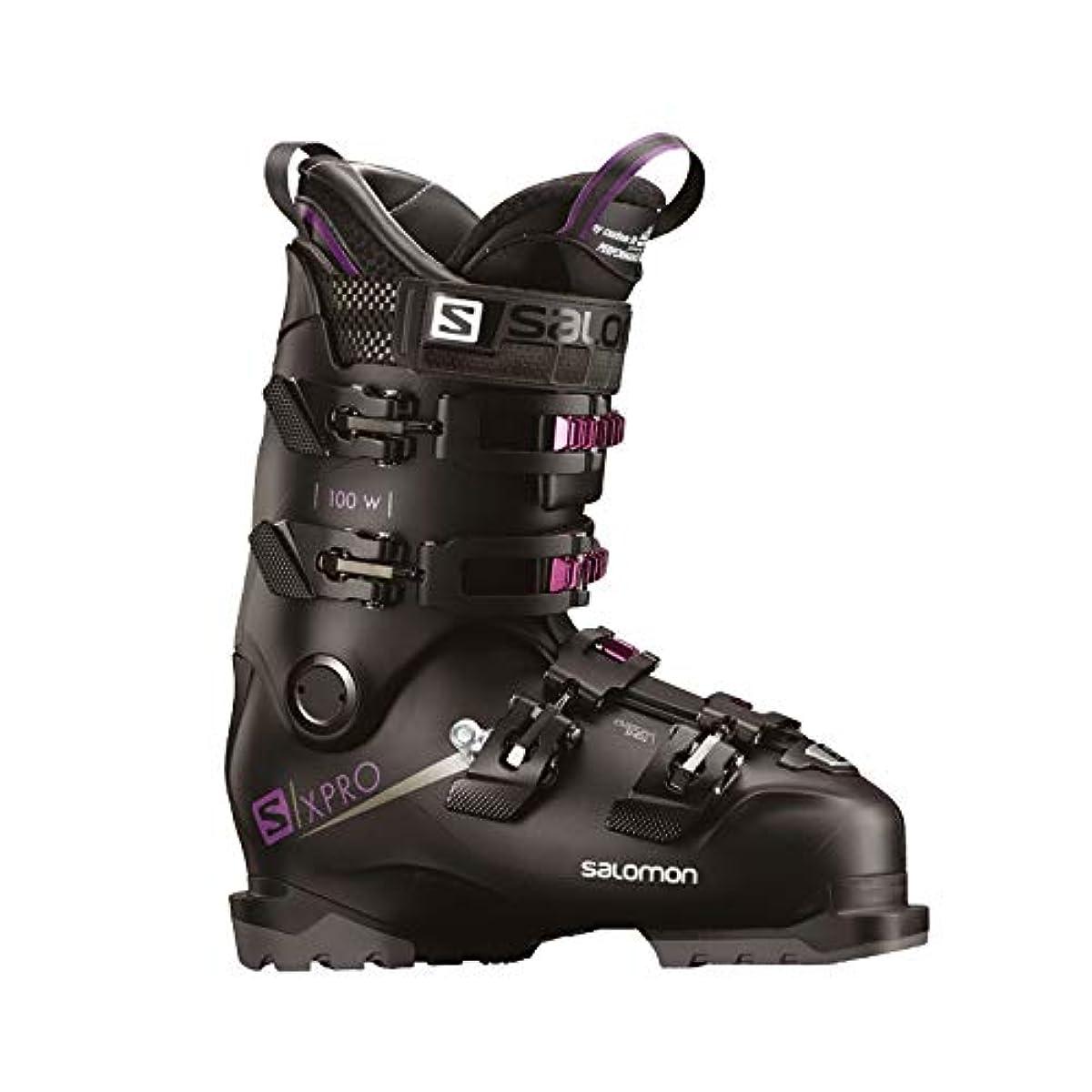 [해외] 살로몬SALOMON 스키화 레이디스 X PRO 100 W X 프로 100 22~24.5CM 2018-19년 모델 L40551600