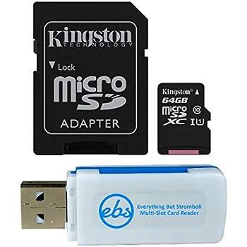 Amazon.com: SanDisk 64GB SDXC Micro Ultra Memory Card Bundle ...