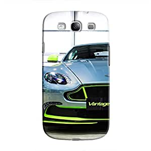 Cover It Up - AM Vantage GT8 Green Galaxy S3 Hard Case