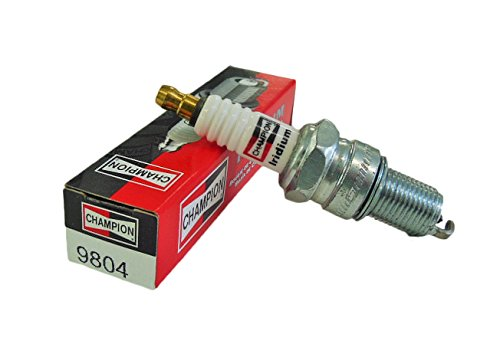 Skis Touring Crown - Champion RN8WYPB3 (9804) Iridium Replacement Spark Plug, (Pack of 1)