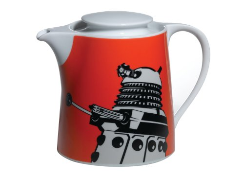 Doctor Who Dalek Tea Pot (Orange)