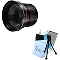 Series 1 3.5X Telephoto Lens + Complete 12pc Cleaning Kit for Samsung NX20,NX200,NX210 Cameras