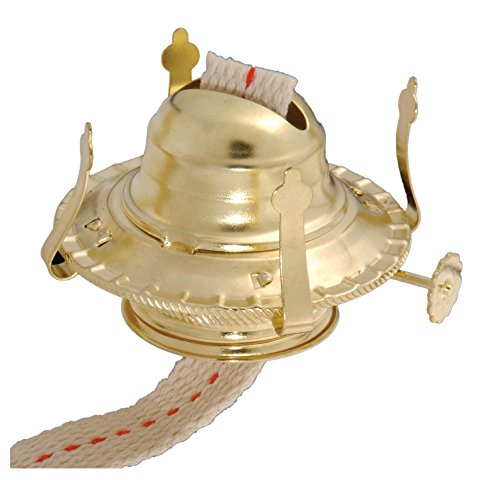 B&P Lamp #2 Kerosene Lamp Burner (Brass)