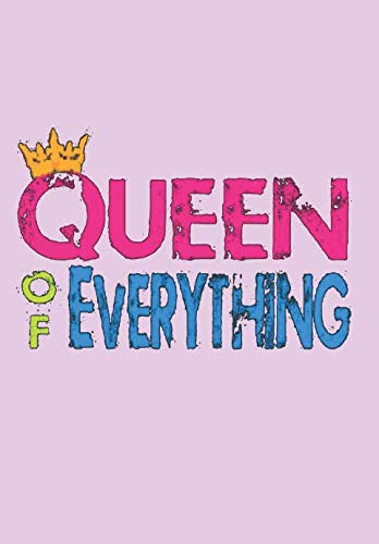 Queen of Everything: Black Pride, Melanin Love  Notebook, Journal, Blank-Lined Book]()