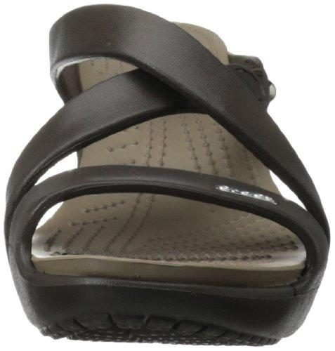 Zapatos Crocs tacón 34 mujer W 5 IV Espresso Heel Mushroom Heel talla Cyprus 14558 Cyprus para de color IV Marrone marrón va8vqxrw