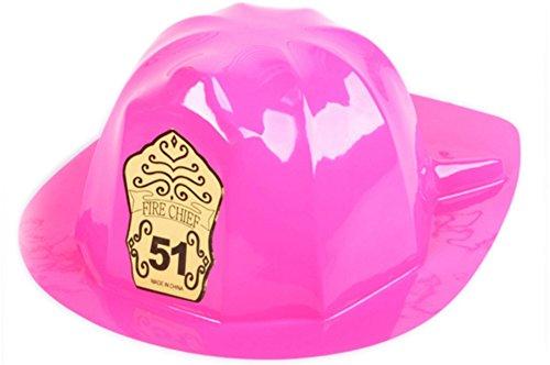Childs Plastic Fireman Costume Helmet