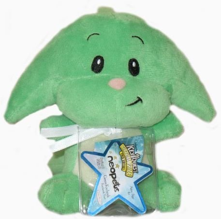 - Neopets Series 3 Green Kacheek Plush