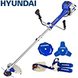 Hyundai 51cc 2-Stroke Anti-Vibration Petrol Grass Trimmer/Strimmer/Brushcutter...
