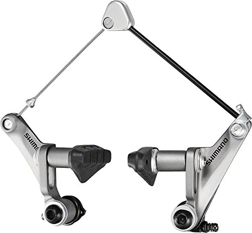 SHIMANO BR-CX50 Canti Cross Brake (Silver, Front 0r)