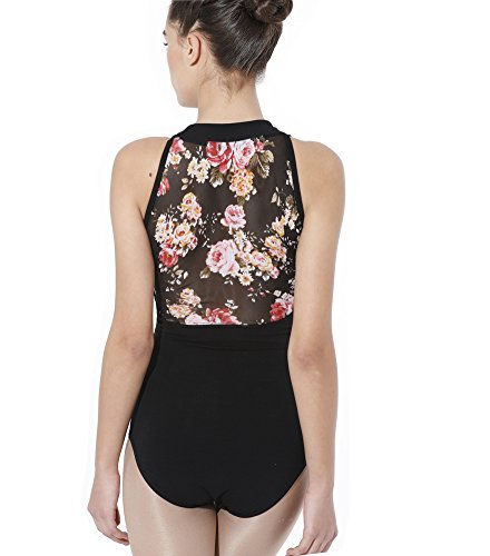 ModLatBal Women's Halter Neck Spandex Cotton Ballet Dance Gymnastics Leotard