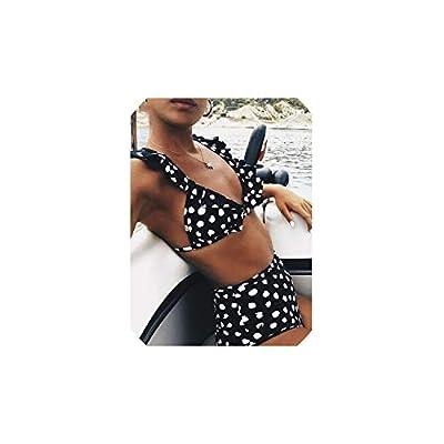 Sexy High Waist Bikini Women Swimwear Push Up Swimsuit Polka Dot Biquinis Summer Beach Wear