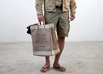 Apolis Market Bag Men's One Size Golden Jute