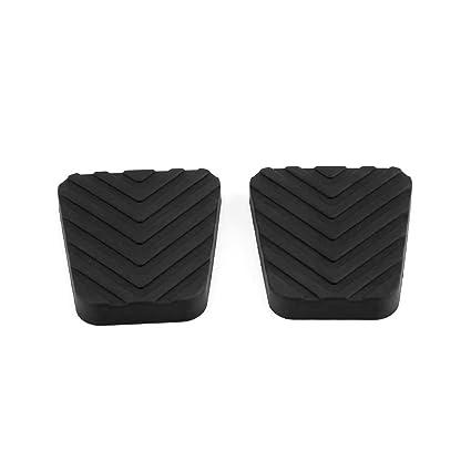 Amazon.com: DEALPEAK One Pair Auto Brake Clutch Pedal Rubber Pad Cover for Car Hyundai Accent Tucson Tiburon 3282536000: Automotive