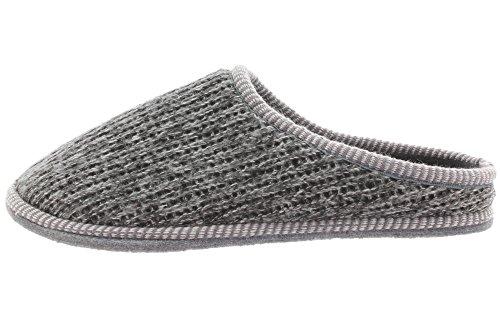 MIK funshopping Men's Knitted Slippers Slippers 35301 Black Multi bflkPmBD