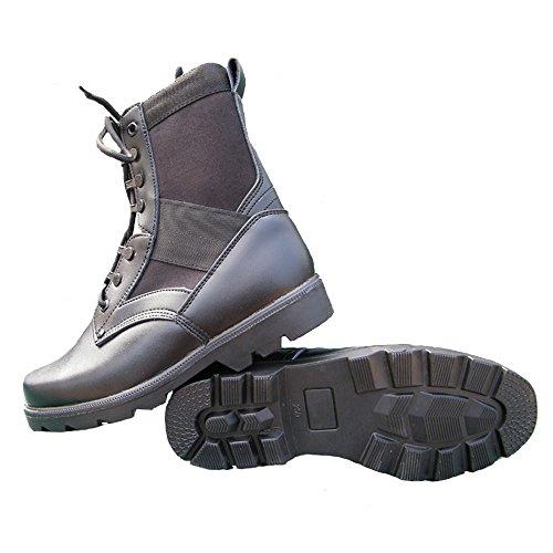 LiliChan Men's 8 Inch Steel Toe Military Tactical Duty Work Boot
