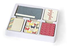Becky Higgins Azure Edition Core Kit For Scrapbooking