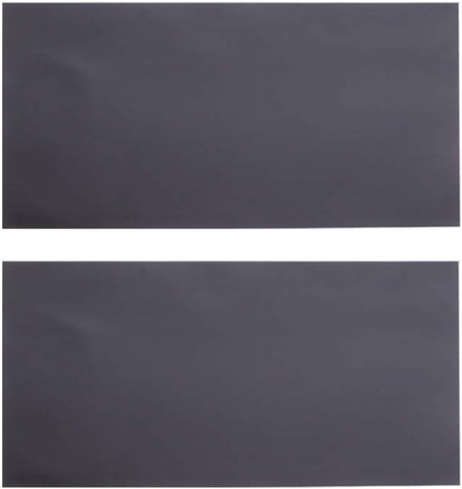 DOITOOL 2 piezas de láminas magnéticas adhesivas láminas magnéticas flexibles con adhesivo pelar y pegar hojas magnéticas autoadhesivas para troqueles artesanales fotos sello (a4 0.7mm negro)